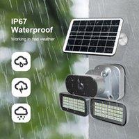 CAMERAS 4G SOLAR POWERED IP Cámara IP Tarjeta SIM HD 1080p Wirelessip67 Waterpoor Seguridad al aire libre CCTV Video Video