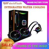 برنامج محول تبريد مياه PC القضية الكمبيوتر وحدة المعالجة المركزية برودة RGB مياه تبريد غرفة تبريد وحدة المعالجة المركزية المتكاملة التبريد المشعاع LGA 1151/2011 / AM3 + / AM4