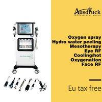 En kaliteli Alice süper kabarcık ultrasonik hidro aqua soyma cilt oksijen hydra Bio kaldırma salonu Makine CE masaj