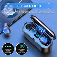 LED Wireless Headphones Bluetooth V5. 0 Touch Control Sport H...