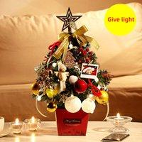 Ornamente Kleine Desktop-Dekoration Baum 50cm Senden Laterne glühender Baum Mini-Weihnachtsbaum-Weihnachtsgeschenk