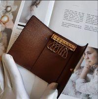 뜨거운 판매! ! ! 클래식 고급스러운 디자인 남자 / 여자의 미니 키 케이스 휴대용 6 개 주요 클러치 최고의 품질은 먼지 봉투와 상자 서