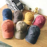 الكرة قبعات السيدة بلون البيسبول الترفيه بسيطة في الهواء الطلق كاوبوي القبعات الهيب هوب طالب قبعة الأدبية