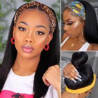 Pelucas de encaje beaudiva heterosexual cabello humano fácil media peluca diadema brasileña parece un verdadero natural