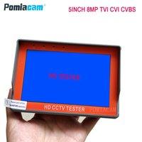 ボックスカメラ5インチの手首CCTVテスター1080p 8mpポータブルカメラAHD TVI CVI CVBS TFT LCDアナログビデオ12V電源出力