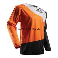 2020 Джерси DH Mx Трассы Cross Country Mountain Bike Racing Bike Мотоцикл с длинным рукавом T-Shirt Off-Road Полиэстер