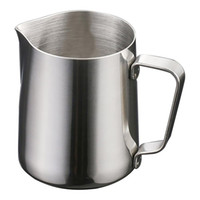الحليب Frother 12OZ أكواب القهوة تبخر أباريق الكؤوس لاسبرسو آلات حليب الإزباد القاذف اتيه الفن الفولاذ المقاوم للصدأ إبريق بالجملة