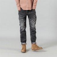 SIMWOOD 2020 Novos Jeans Men Classical Jean alta qualidade perna reta Masculino calças Plus Size Casual Algodão Denim Trousers 180.348 MX200814