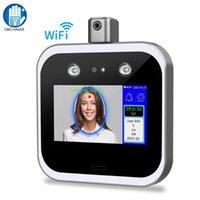Système de reconnaissance faciale WIFI / TCP / IP Infrarouge de la température de la température de la température du visage Terminal Accès Temps de contrôle Temps de présence Machine 5 pouces Touch Scree