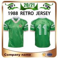 1988 Ireland retro Soccer Jersey 88/90 Stapleton McCarthy McGrath Houghton Whelan Kelly jérsei de futebol equipa de futebol nacional uniformes Vendas