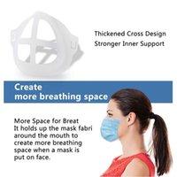 3D máscara Soporte para Adultos y Niños Protección del lápiz labial Párese máscara interior Soporte Para respira libremente Cara Máscaras Porta-herramienta Accesorios LJJP564