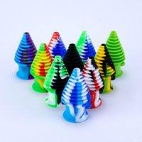 FDA de silicona goteos para conducciones de agua de cristal de colores puntas de silicona hookah mouthpeace de filtración para las DAB tubería de agua de cristal bong plataforma de tabaco