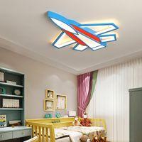 Kid room Çocuk odası studyroom İçin Yeni Yaratıcı uçak led tavan lambası Modern tavan AC110V 220V tavan lambası yanar açtı