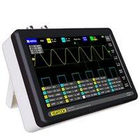 YEAPOOK Tableta digital osciloscopio de almacenamiento portátil osciloscopio Kit con 2 canales, 100 MHz de ancho de banda, 1GSa / s Frecuencia de muestreo