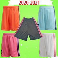calções de futebol Real Madrid 2020 2021 Adulto mens 20 21 lar longe calças de futebol terceiro goleiro PERIGO Benzema BALE RAMOS ZIDANE AREOLA