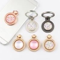 Titular do anel de dedo bling Diamante exclusivo titulares de telefone celular para iphone x 8 7 6s samsung s8 carrinho de celular ipad