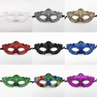 NEW 300pcs Multicolored Lace Masquerade Masks Costume Eyemask Woman Mask for Halloween Carnival Fancy Dress T500208