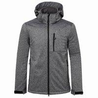 Outdoor Soft Shell Jacket Mens Outono Inverno Moda Casual Waterproof Keep-quente casaco de desporto ao ar livre jaqueta corta-vento