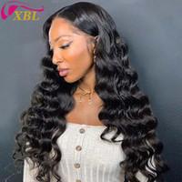 180% Dichte Human Hair Bündel Schließung Perücke in verschiedenen Kappengröße Spitze Größe 13 By4 Frontal Spitze Perücke