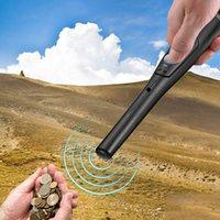 Metal Dedektörleri LED Işıklı Taşınabilir Dedektör, IP66 Su Geçirmez, Yüksek Hassasiyet 360 Grad Tarama Titreşim Kimliği