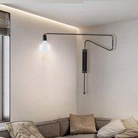 현대 디자이너 LED 벽 조명 북유럽 침실 벽 조명기구 홈 실내 벽 램프 AC 100-240V