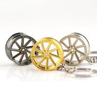 سلسلة فوسن عجلة حافة الموديل سلسلة المفاتيح اكسسوارات السيارات الإبداعية الجزء سيارة كيرينغ مفتاح حامل حزام الموجودة في قاعدة المفتاح مفتاح