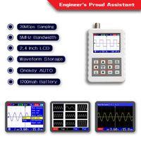 """DSO PRO 2.4"""" Portable Color osciloscopio multímetro digital Osciloscopio Analizador lógico con 5 MHz de ancho de banda de frecuencia de muestreo y el 20M"""