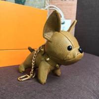 Cão Chaveiros Chaveiros Buckle Purse Pingente Sacos Dogs Design Moda Boneca Correntes Chave Fivela 6 Cor Alta Qualidade