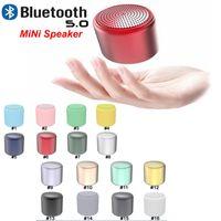 2020 ianpice Altavoces inPods Littlefun al aire libre Bluetooth Macaron Colores Color del metal Altavoz portátil Mini Altavoz inalámbrico para el iPhone SE