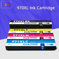ل 970 971 970XL 971XL خرطوشة الحبر المعاد المصادقة ل OfficeJet Pro X451DN X451DW X551DW X476DN X476DW X576DW