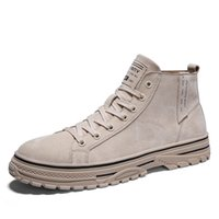 Tactical Desert Combat inverno stivali da uomo 2020 Moda Army Boots Men' s Shoes High Top Uomini caviglia lavorare all'aperto