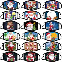 DHL Shipping Party Masks Fashion Christmas Masks Unisex Xmas Mask Outdoor Anti Dust Face Cover Snowflake Christmas Mouth Masks X611FZ