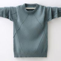 Bambino maglione del ragazzo dei vestiti del bambino ragazzo autunno e l'inverno a maglia vestiti caldi vestiti del bambino maglione dei vestiti del maglione del bambino dei bambini