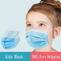 Disposable Face Mask For Kids 3 Layers Disposable Face Mask ...