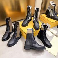 Конструктор Rockoko Combat Boots для женщин лодыжки Мартин сапоги вязать кожа Байкер сапоги стрейч ткани Вставки Австралия зимние полусапожки
