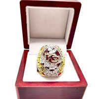 2019kansas Super Championship Replica Ring кольца церковь мужские кольца братства кольца