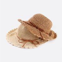 Широкие шляпы Breim Mingjiebihuo летняя соломенная шляпа леди корейская версия маленький свежий большой солнцезащитный солнцезащитный крем женщин девушки мода солнечная шапка