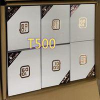 T500 SmartWatch الرياضة في الهواء الطلق القلب رصد معدل اللياقة البدنية المقتفي الذكية معصمه الساعات 1.54 بوصة شاشة بلوتوث مكالمة مع حزمة البيع بالتجزئة