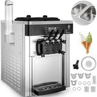 3 ароматизатор коммерчески мягкое мороженое машина внешний конусный держатель 220V нержавеющая сталь