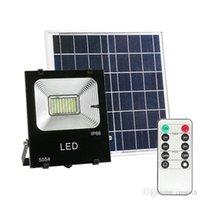 태양 홍수 빛, 황혼 새벽 6W 태양 전지 패널 54Leds IP65 방수 태양 전원 홍수 빛 야외 보안 조명기구에