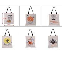6 estilos grande saco de Halloween Tote da doçura ou travessura Sacos Criativo Dia das Bruxas Aranha Doce Gift Bag For Kids LX3129