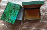 2020 nouveau fournisseur d'usine lux urry green avec boîte originale boîte de montre en bois boîte carte portefeuille boxesescases bracelets naissants rôles