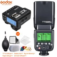 Godox685C E-TTL II 2.4g HSS GN60 1 / 8000s flash Speedlite com X2T gatilho para 800D 760D 750D 5DIV / III EOS R RP