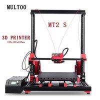 Stampanti MULTROO MT2 con Personalizzato Axis Axis Altezza Alta temperatura Precisione professionale Formato di grandi dimensioni Stampante 3D Stampante 3D Guida lineare