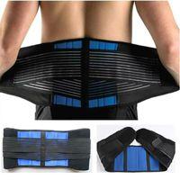 Mulheres Homens Postura Voltar Apoio Belt Elastic Voltar Belt Brace apoio lombar Brace cintura espartilho grande tamanho XXXL XXXXL Y010