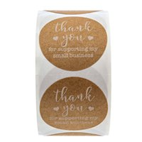 1. 5inch 500pcs Kraft Paper Tags Thank You for Supporting My ...