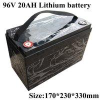 Wasserdicht 96v 20Ah Lithium-Ionen Wiederaufladbare Bateria Li 18650 BMS für Roboter-Roller-Fahrrad Gabelstapler Van AGV + 3A Ladegerät