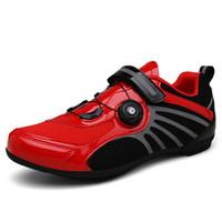 الدراجات أحذية رجالي إمرأة أحذية الطريق دراجة تنفس الدراجة sapatilha ciclismo mtb دورة أحذية رياضية