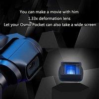 Lente de vidro bolso Optical Grande Wide-Angle 1.33X Anamórfico Lente portátil Quick Release Kit leve para DJI Osmo