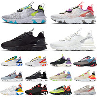 أحذية Nike React Vision Element 55 87 Airmax MAX 270 REACT ENG Travis Scott Cactus Trails الاحذية React Vision المدربين 2020 Bubble Pack أعلى جودة للرجال أحذية  رياضية SAFARI EPIC